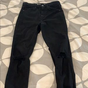 Topshop High Rise Jamie Jeans